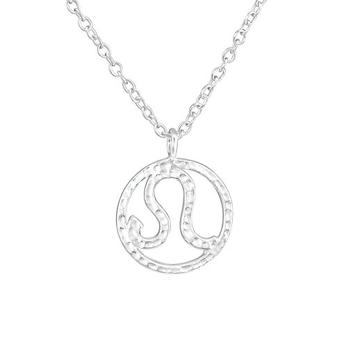 Sterling Silver Virgo Leo Necklace