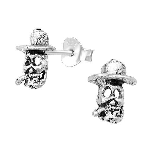 Skull Ear Studs