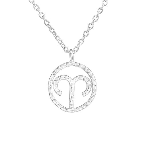 Sterling Silver Aries Necklace