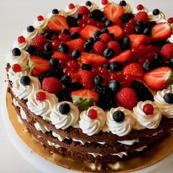Open cake alle bacche
