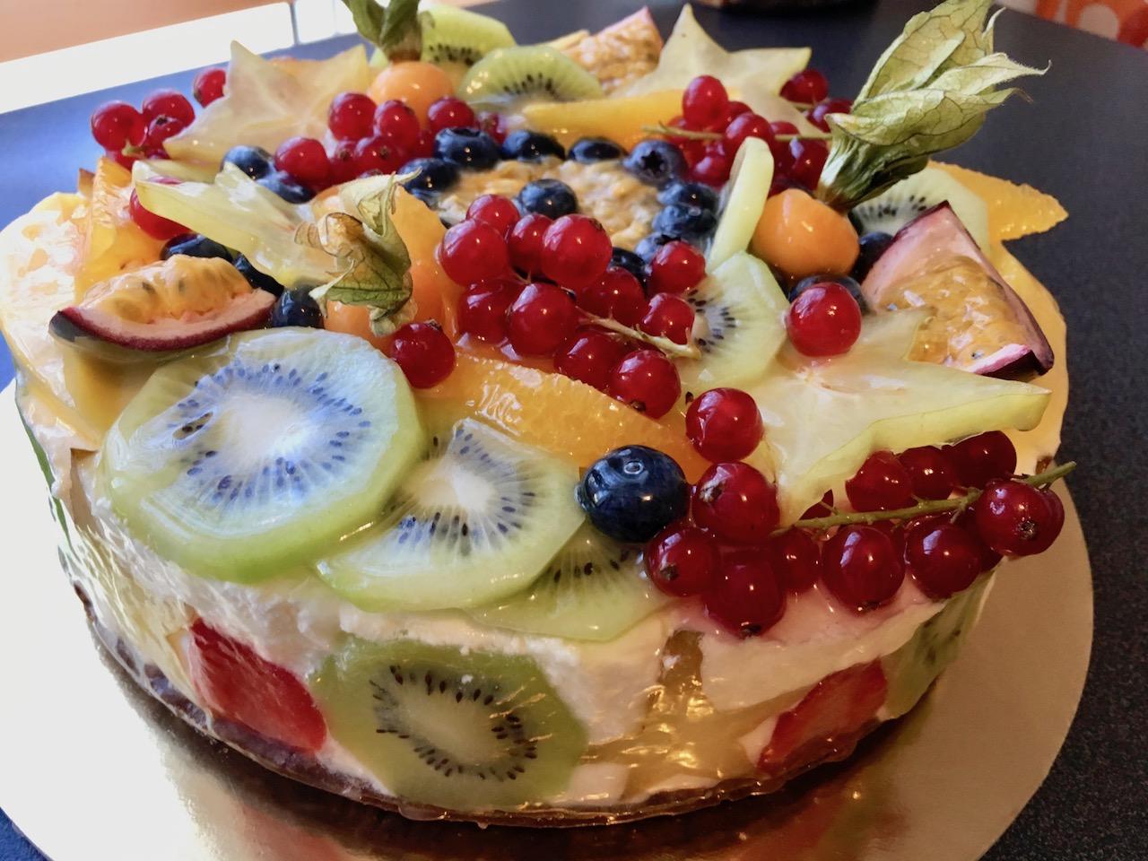 Cheese cake frutta mista