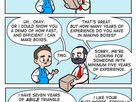 Job Hunting 101: Shapes