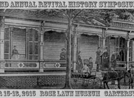 2nd Annual Revival History Symposium