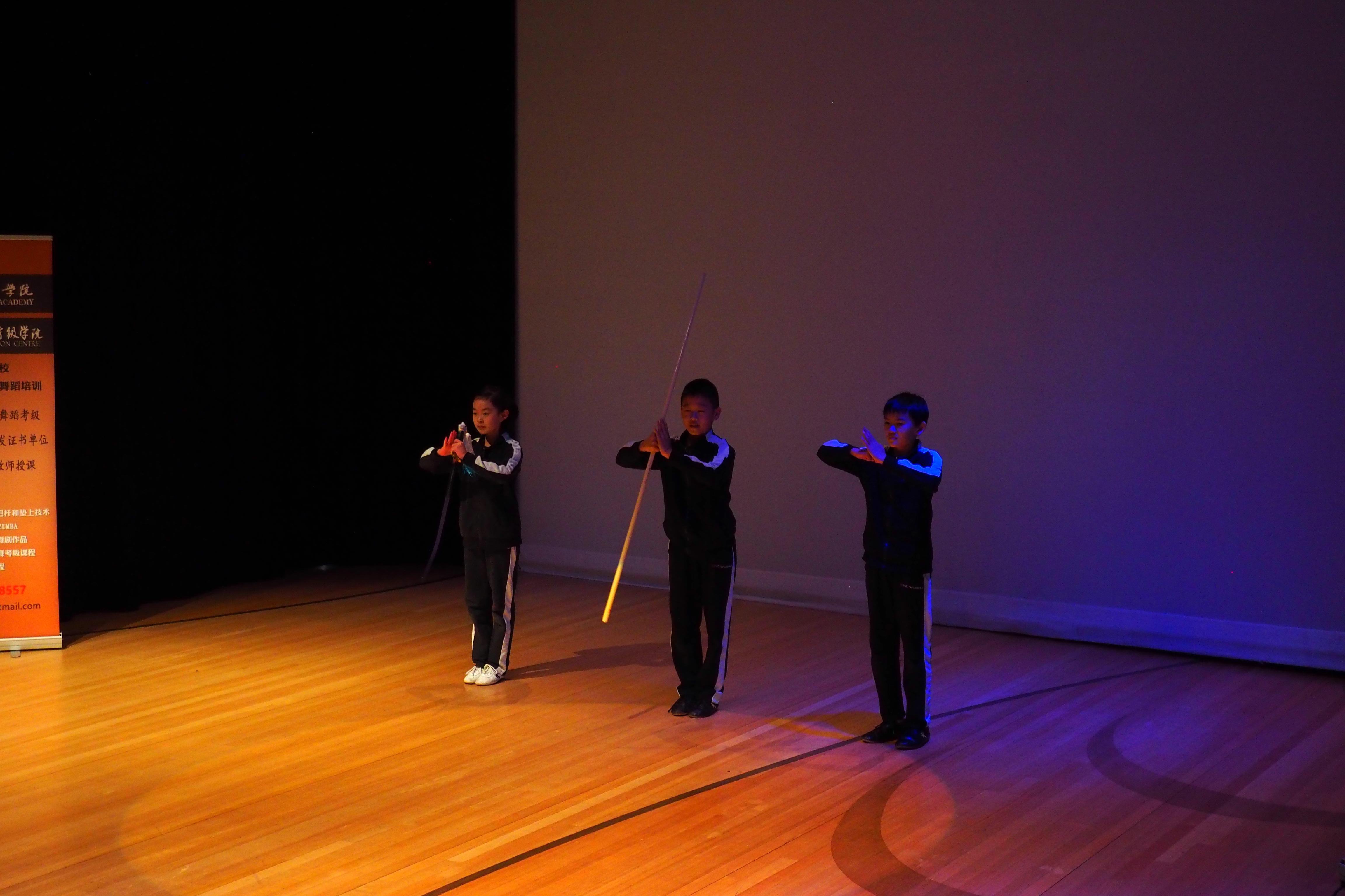 Performance Glen Innes Community Centre NZ Wushu