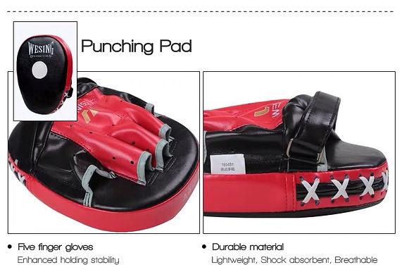 Wesing Sanda Kickboxing Punching pad.jpg