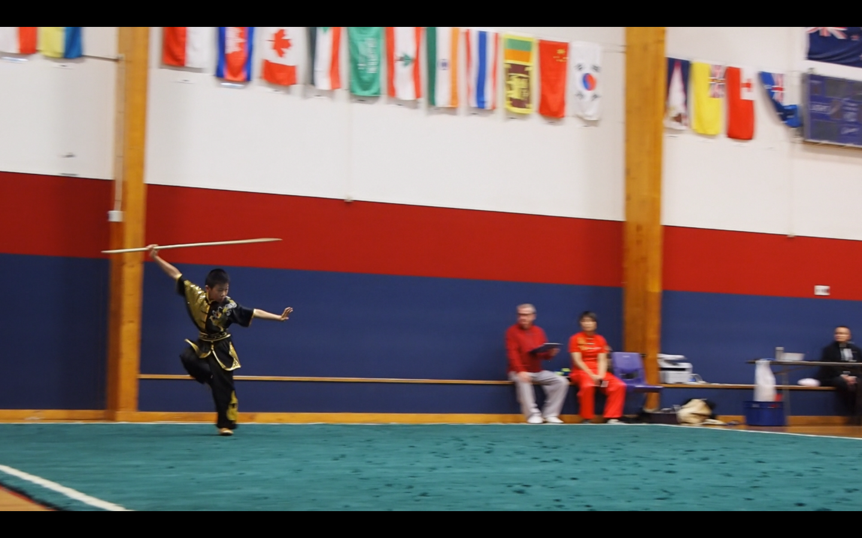 Gun / Staff NZ Wushu Competition