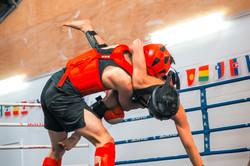 Wrestling in Sanda