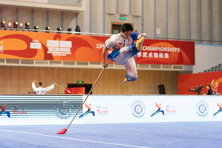 Kameron Li 15th World Wushu Championship