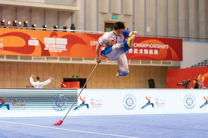 Kameron Li 15th World Wushu Championship