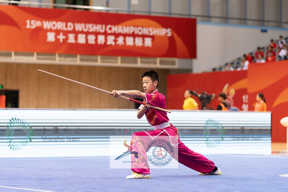 James Liu 15th World Wushu Championships