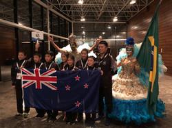 NZ Wushu Team in Brazil