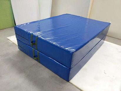 Blue crash mat NZ Wushu Shop.jpg