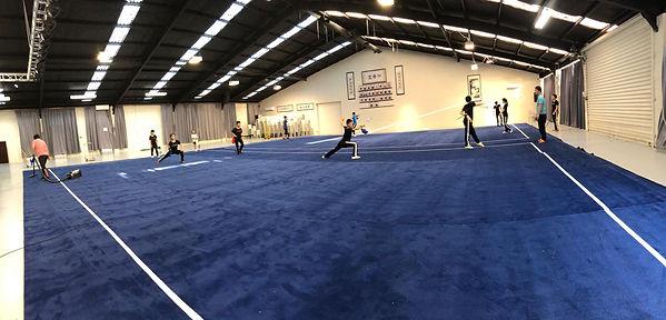 NZ National Development Squad Wushu Trai
