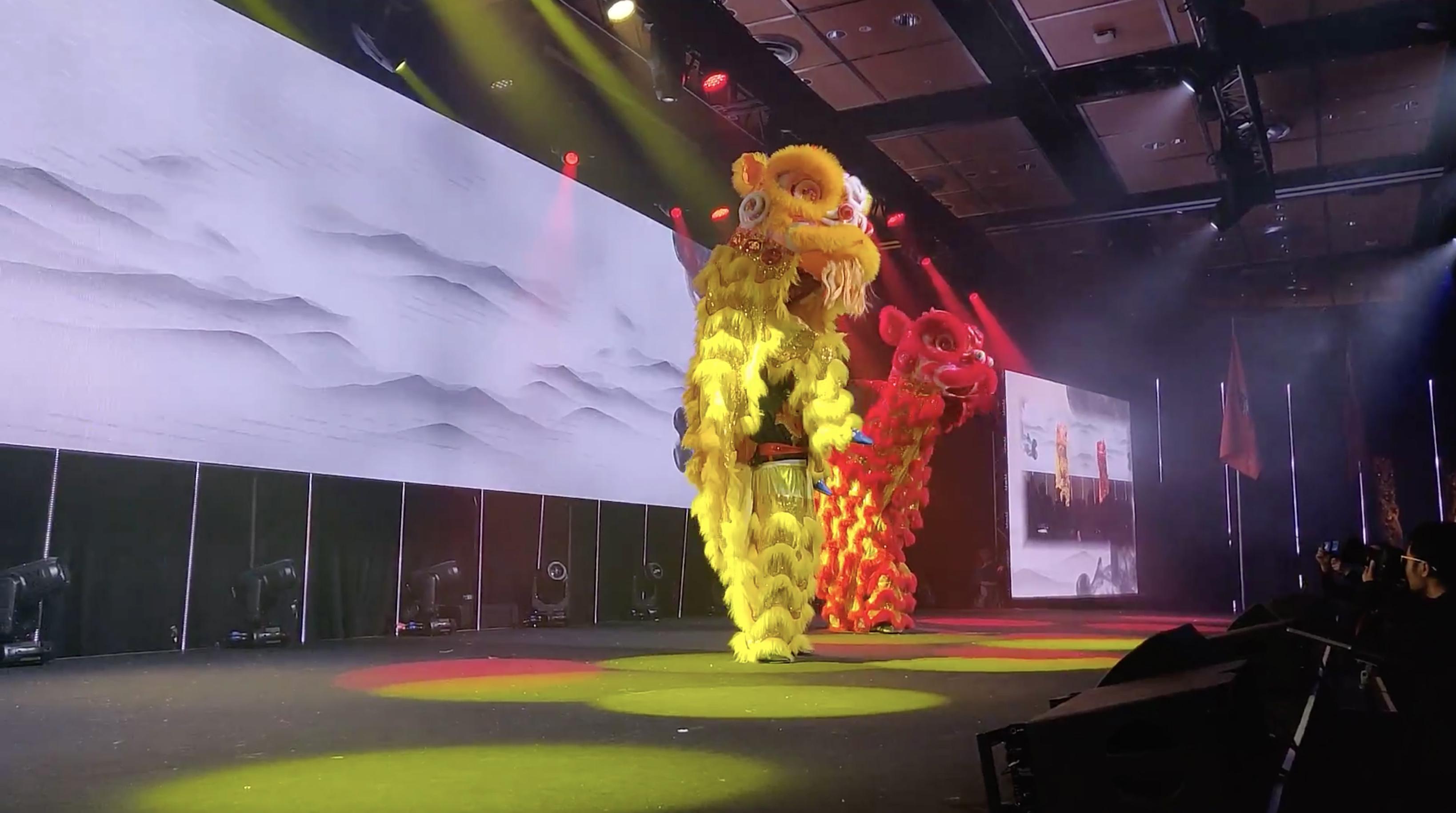 Lion Dance NZ Wushu