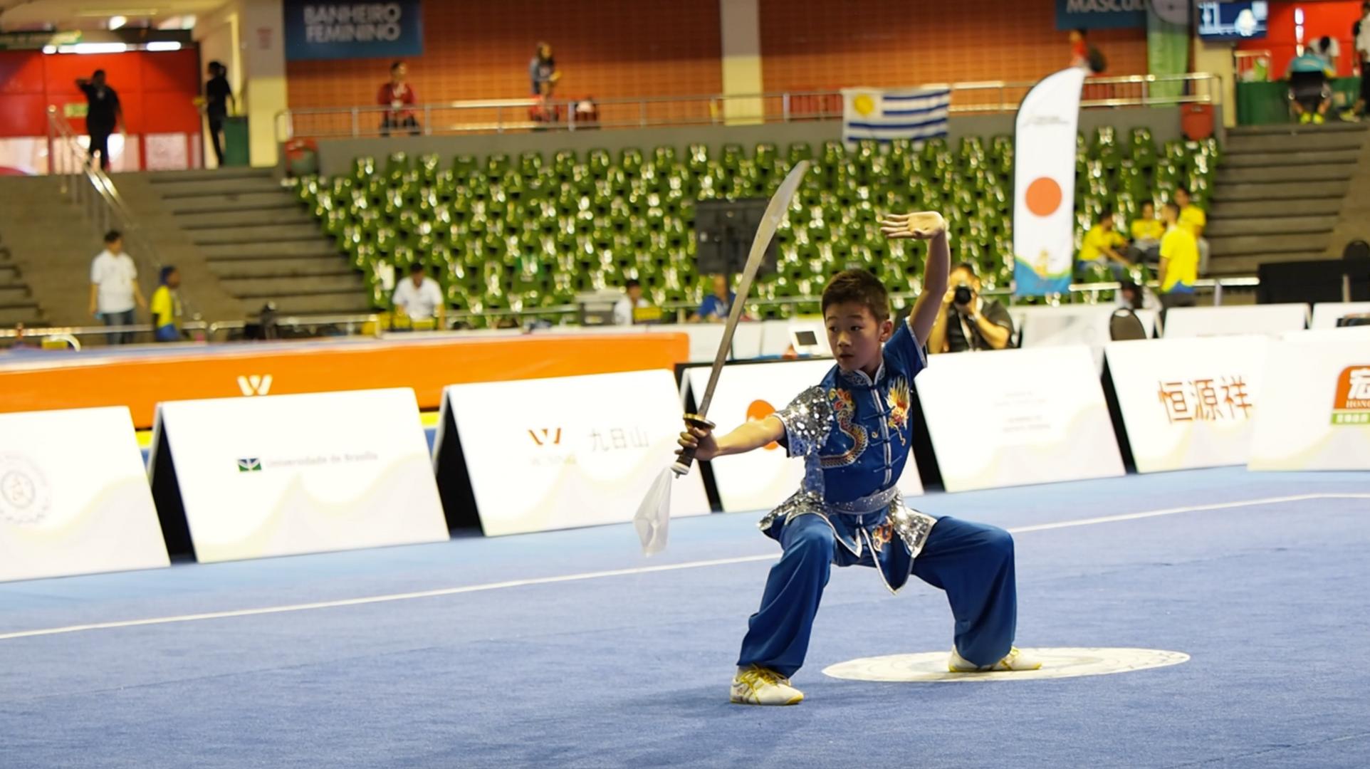 James Liu Daoshu NZ Wushu 7th World Juni