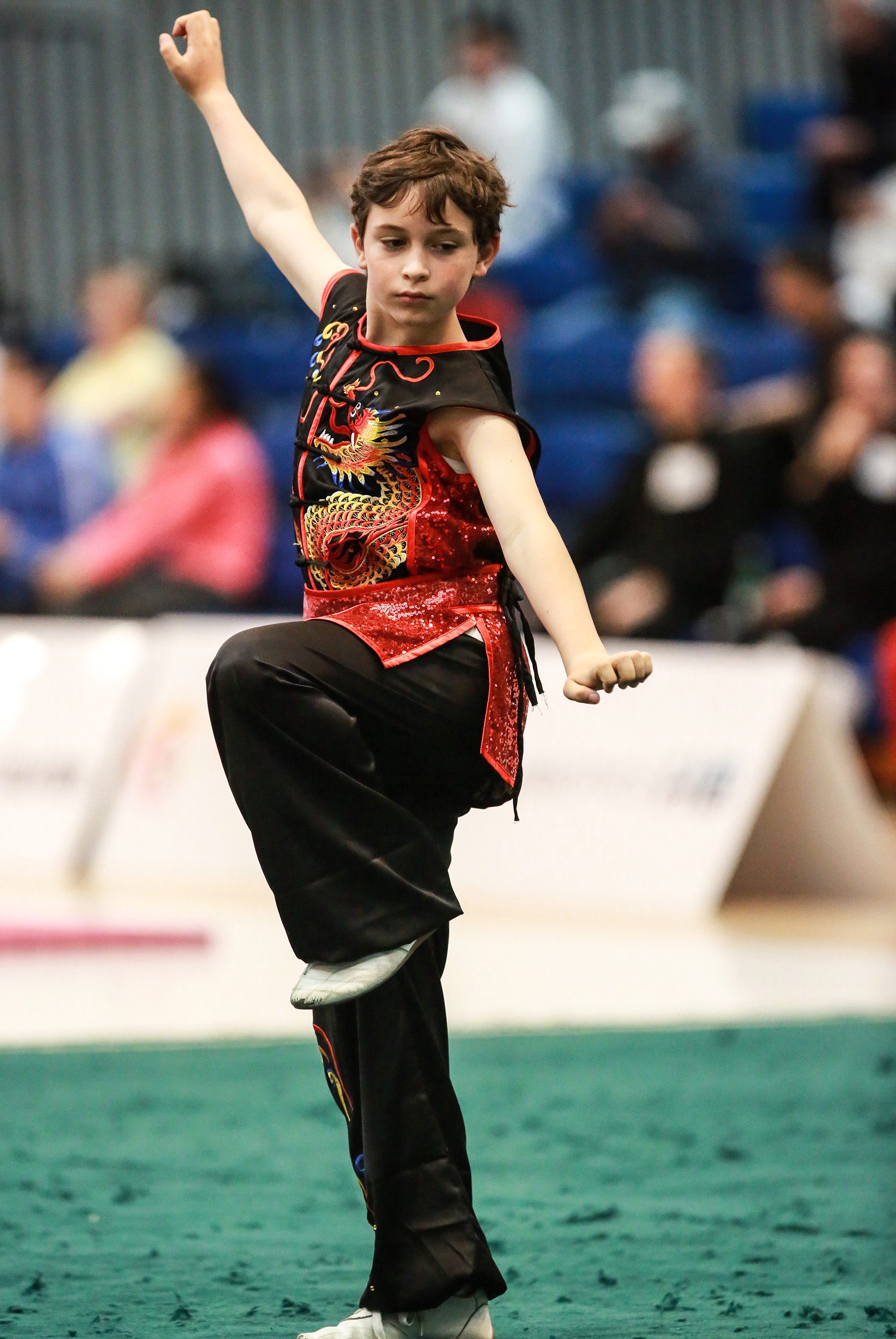 NZ Wushu 2019 Champs- Mario Vigorelli co