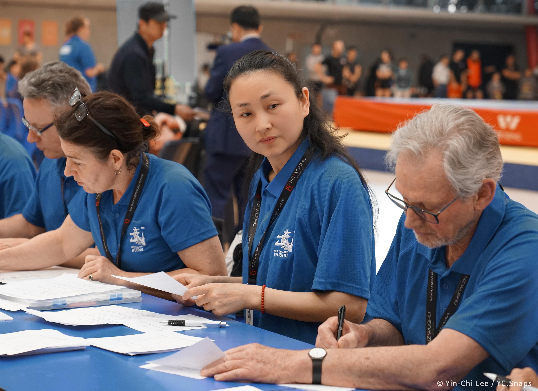 Teacher Liang Li Judge NZ National Kungf