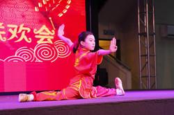 Wushu Splits Ending Pose NZ Wushu