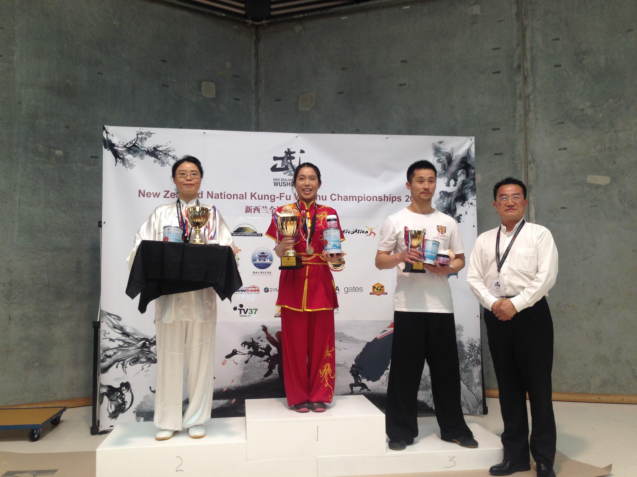 NZ Wushu Team Compeition