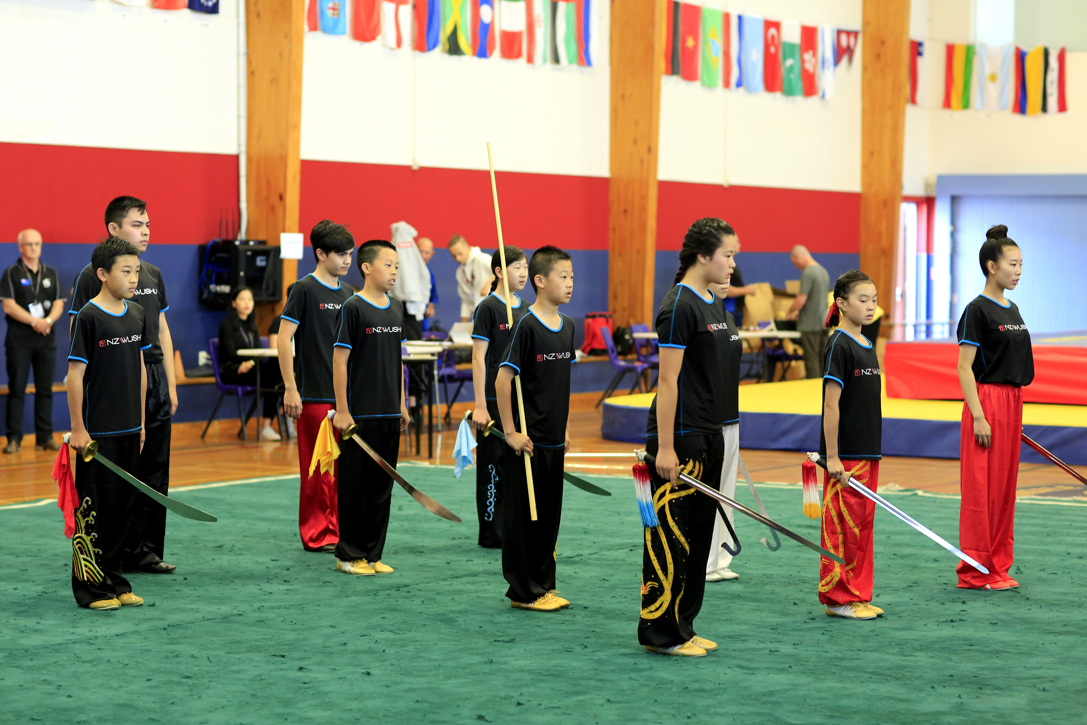 Group performance - NZ Wushu