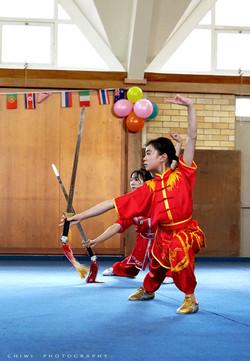 Group sword NZ Wushu