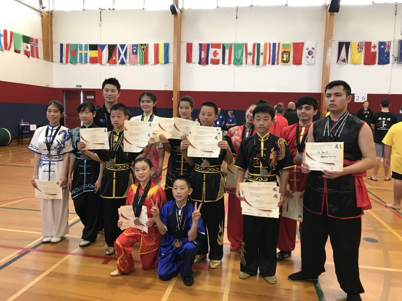 NZ Wushu Team Awards