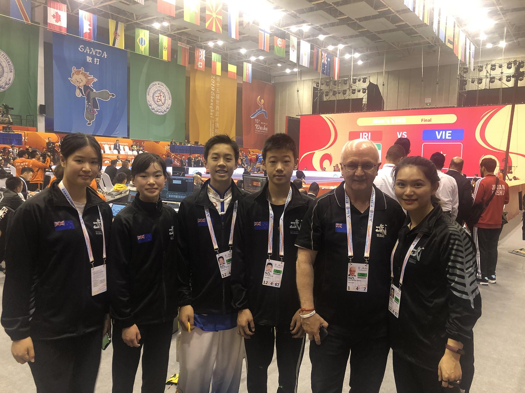 NZL Team 15th World Wushu Championships
