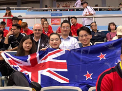 New Zealand Team at the World Champs