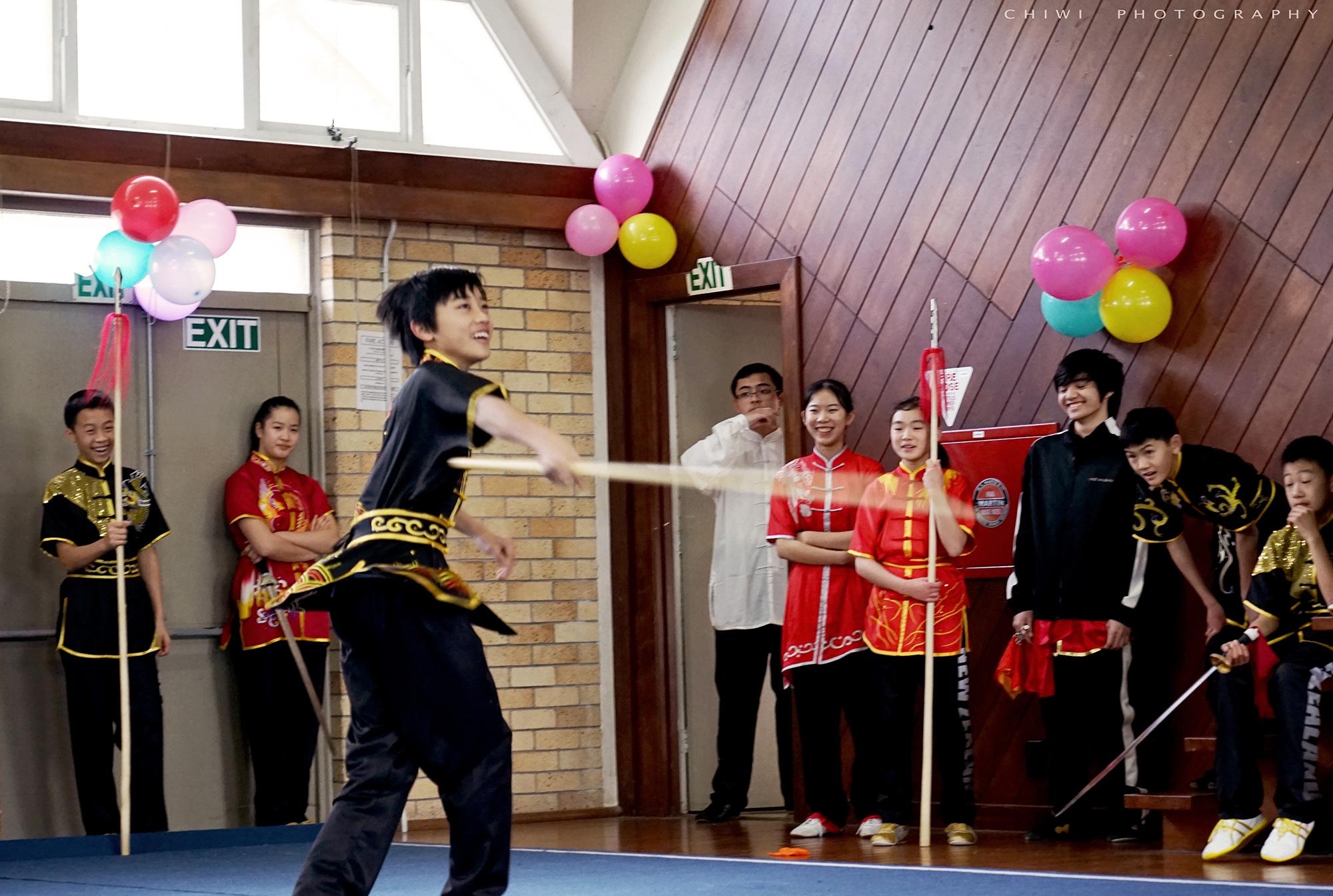 Rehearsal NZ Wushu