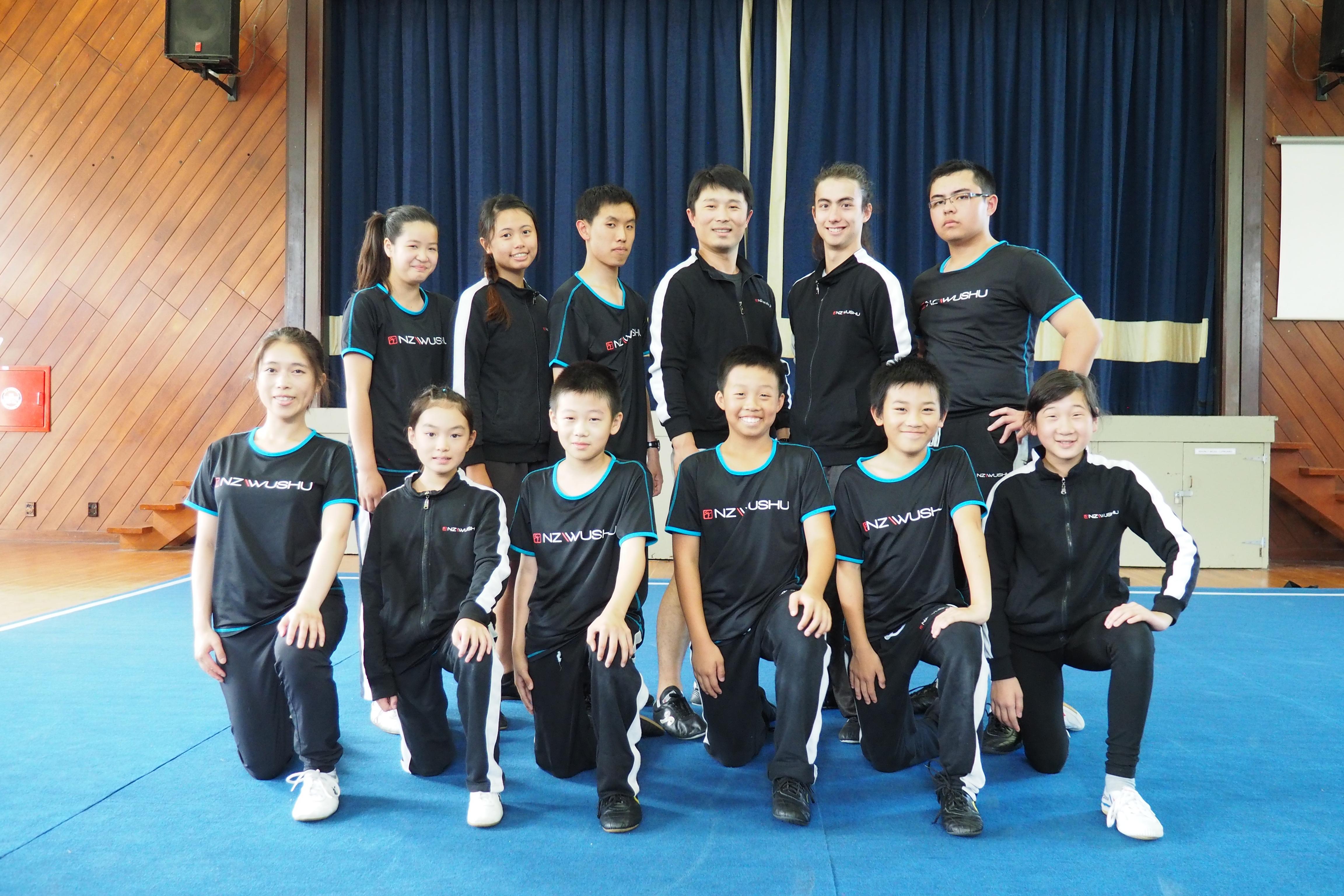 NZ Wushu Class photo