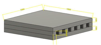 Crash mat inner layers Dynanic Wholesale