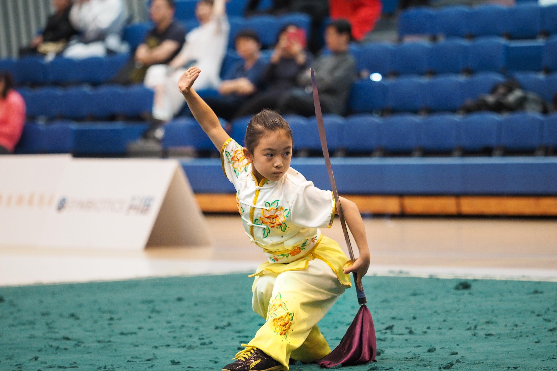 Emily Zhan Dao NZ Wushu Championships