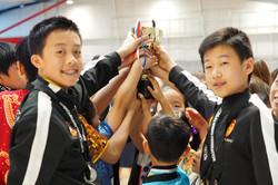 NZ Wushu First Place Trophy