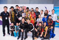 NZ Wushu Academy Team photo 2019