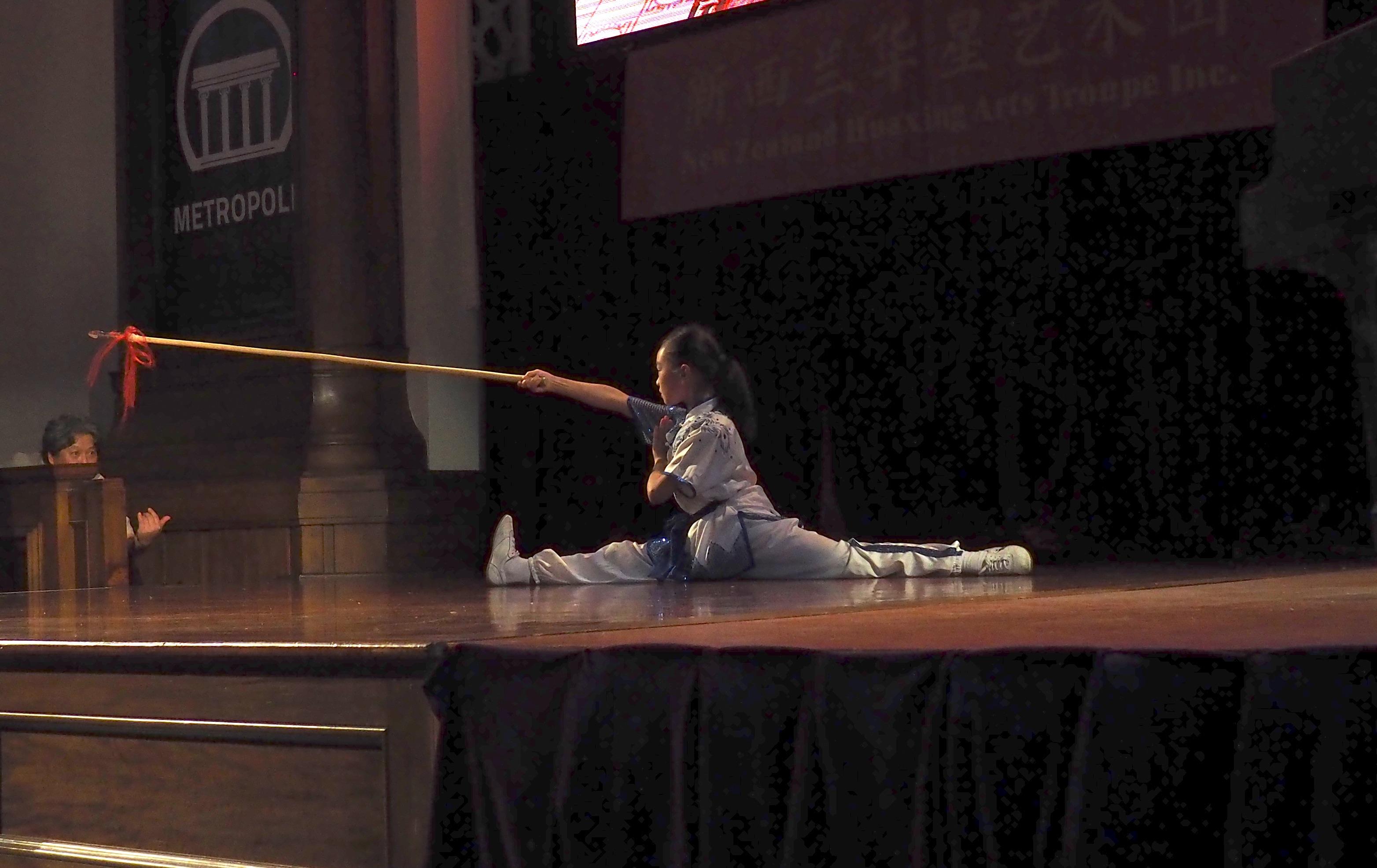 Spear Splits Auckland Performance