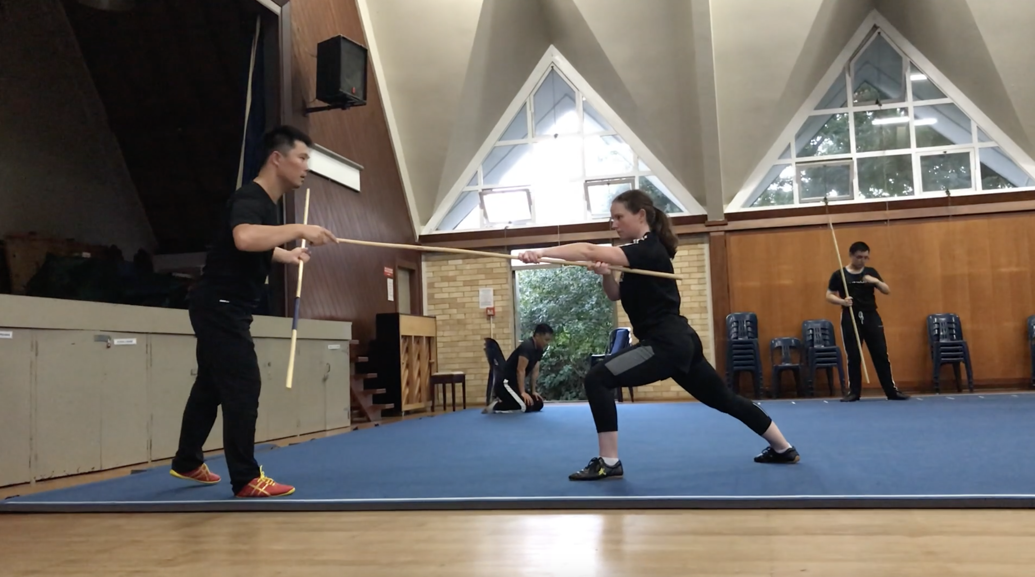 Learning Staff Adults Class NZ Wushu