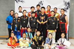 NZ Wushu Academy Team First Place