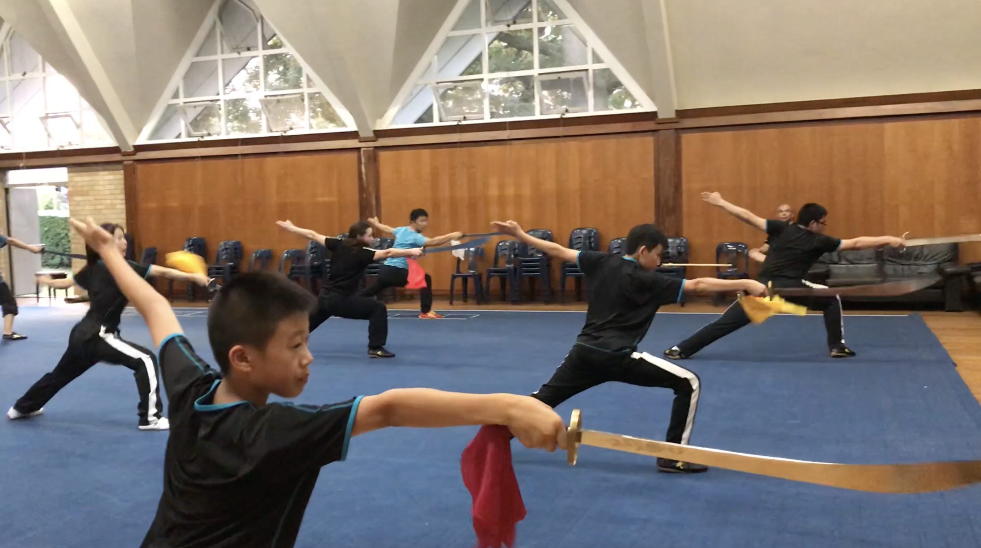 Dao _ Broadsword 刀術 Class NZ Wushu