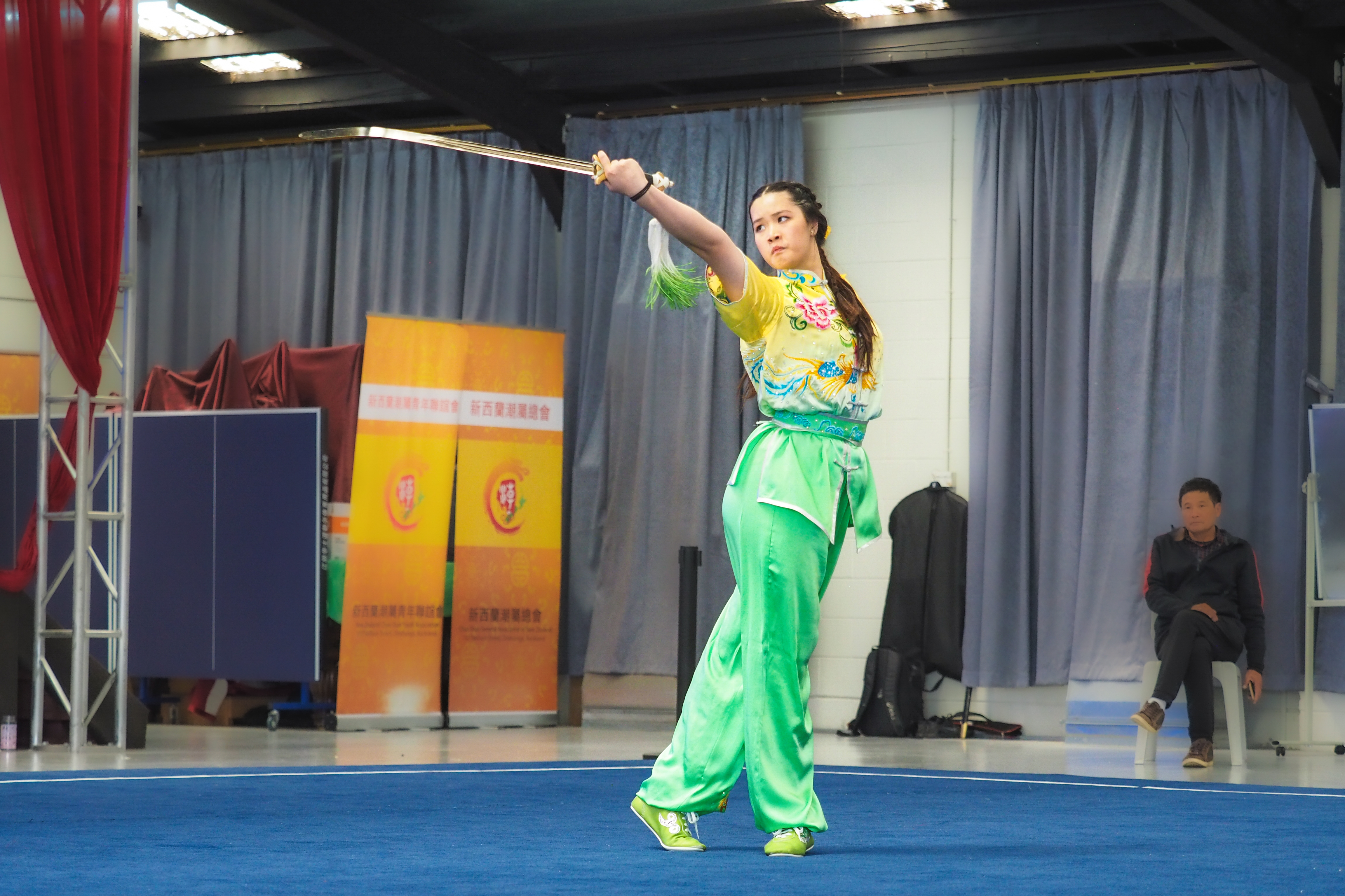 Annabelle Liang - Straight Sword, wushu