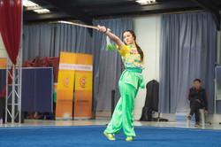 Annabelle Liang - Straight Sword, wushu