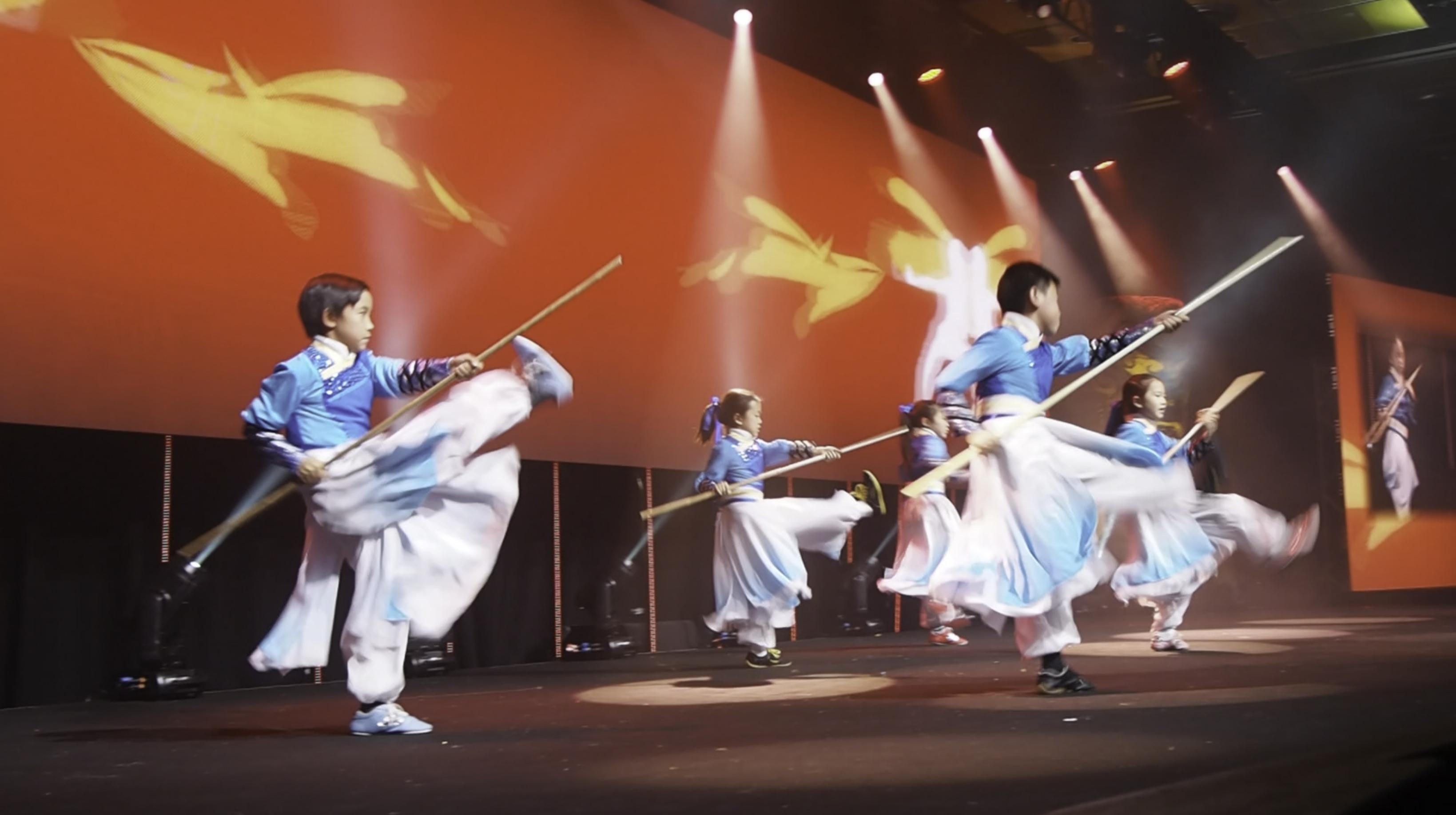 Group Staff Performance NZ Wushu