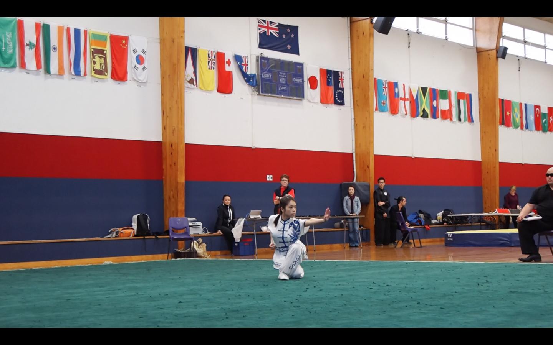 Jane Cha Quan Traditional Fist Form NZ National Kung fu Wushu Tournament