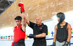 Sanda Kickboxing - Damyan Ng