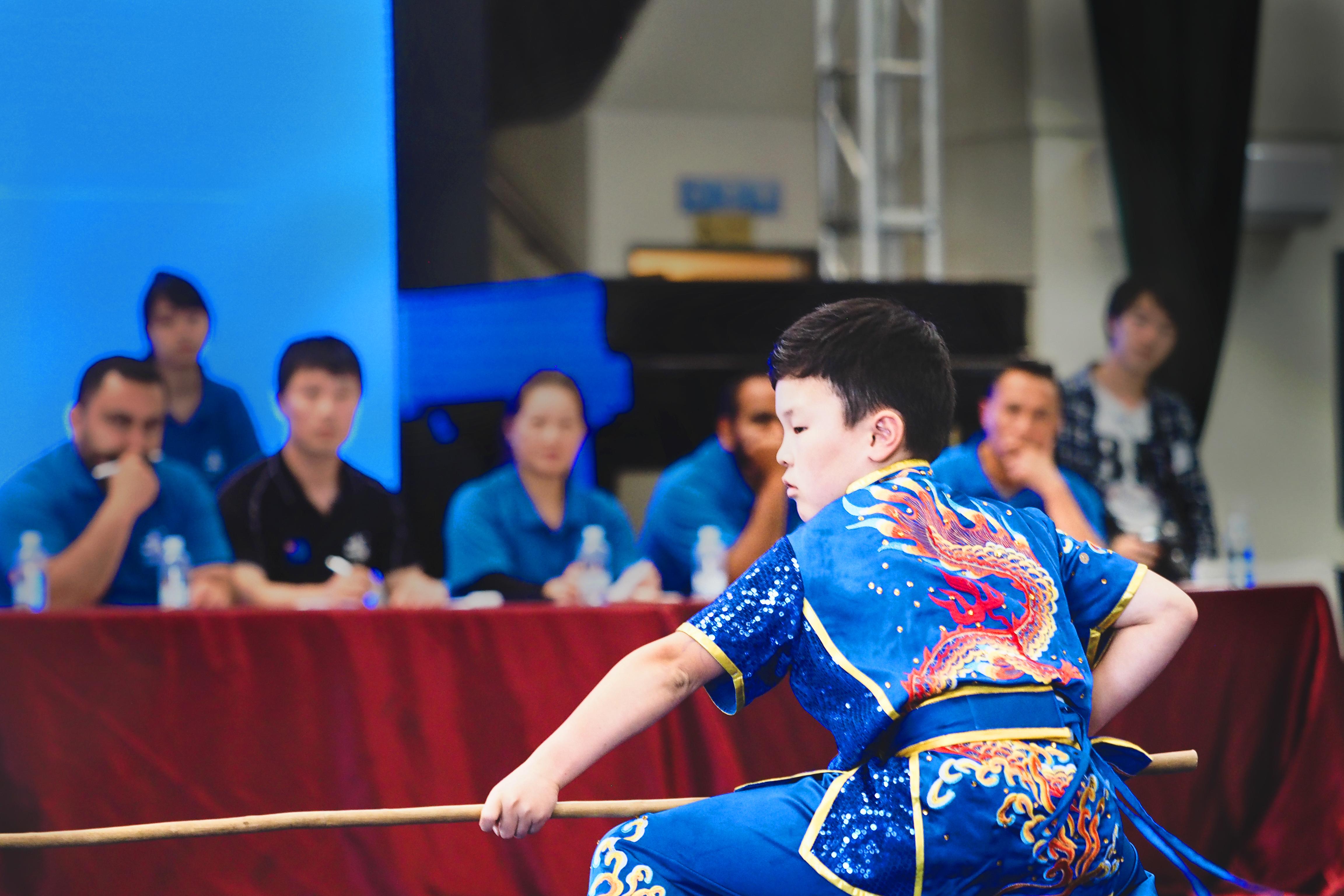 Antony Zhou - staff, wushu