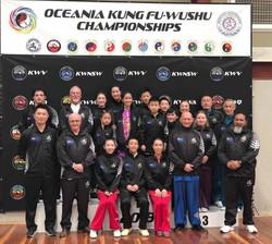 New Zealand Wushu Team Oceania Kungfu Wu