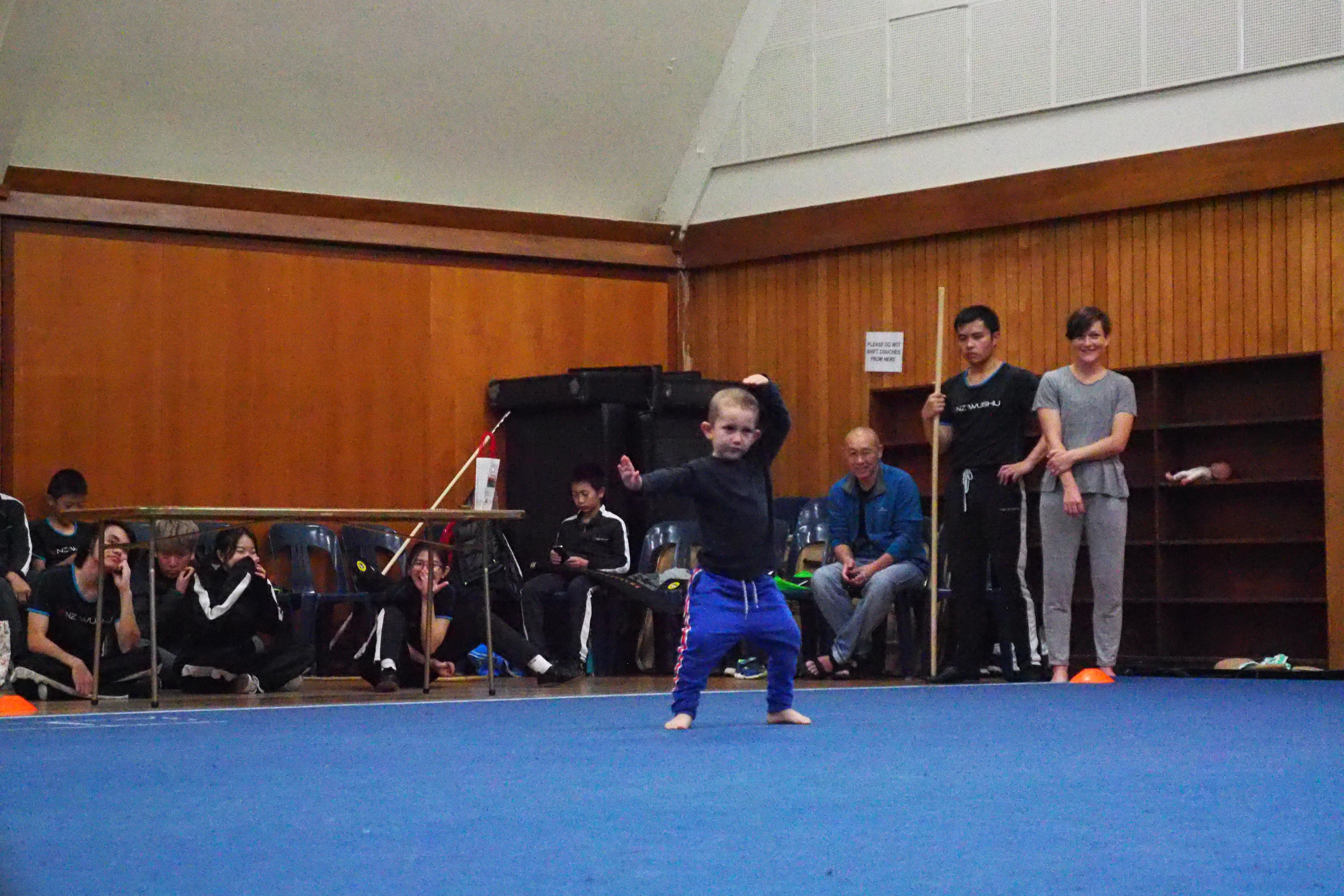 NZ Wushu Grading 40