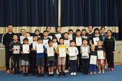 NZ Wushu Grading Class Photo 01
