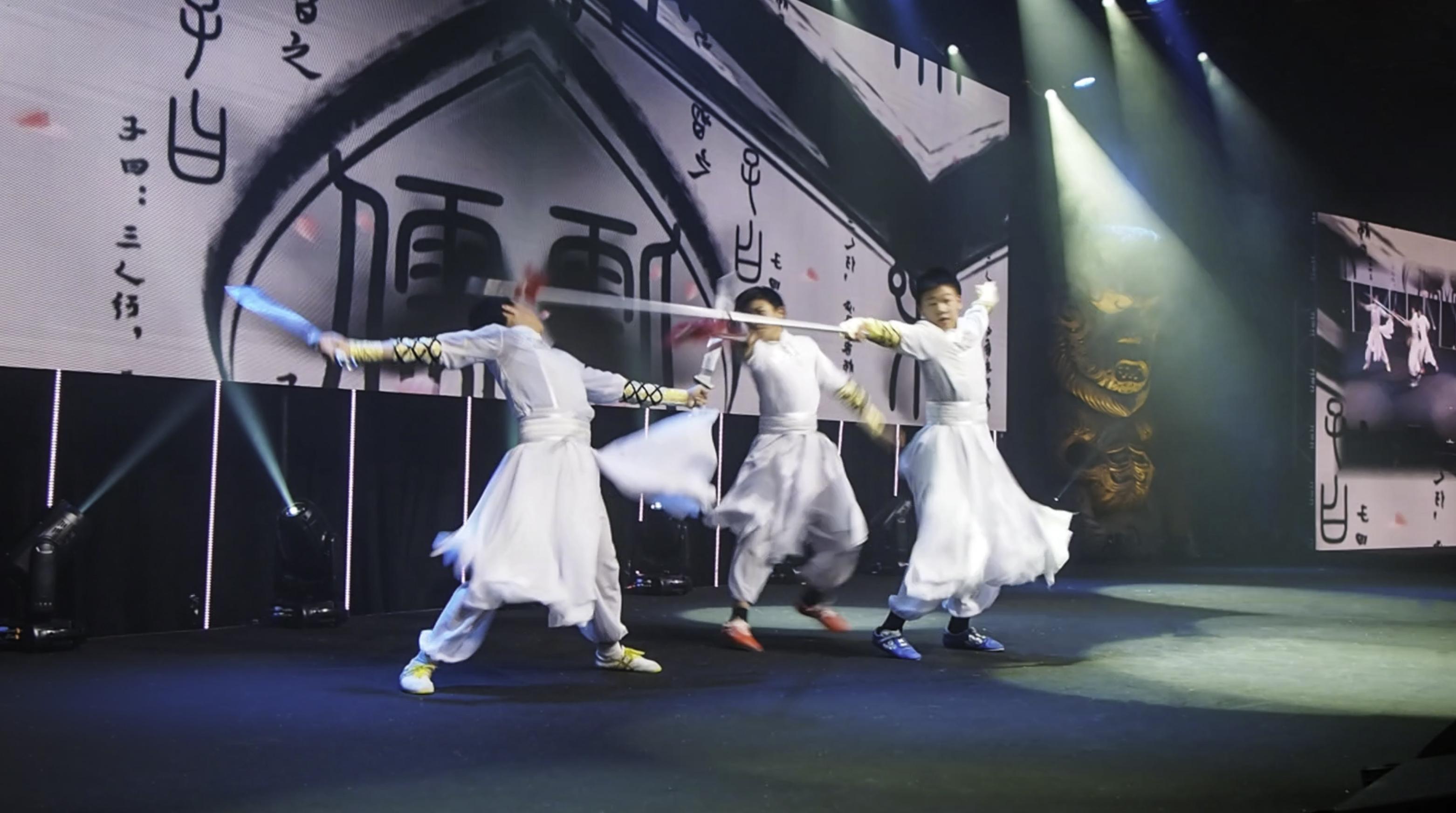 Duilian fighting NZ Wushu