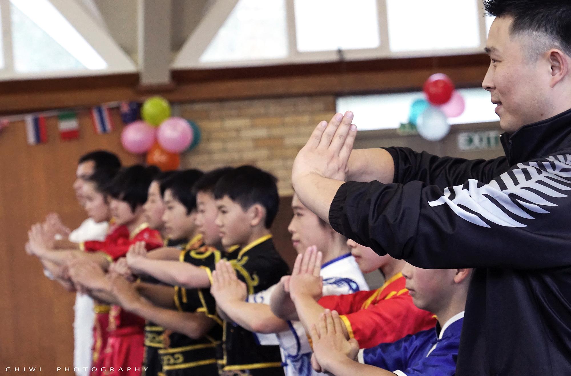 New Zealand Development Squad Group Salute