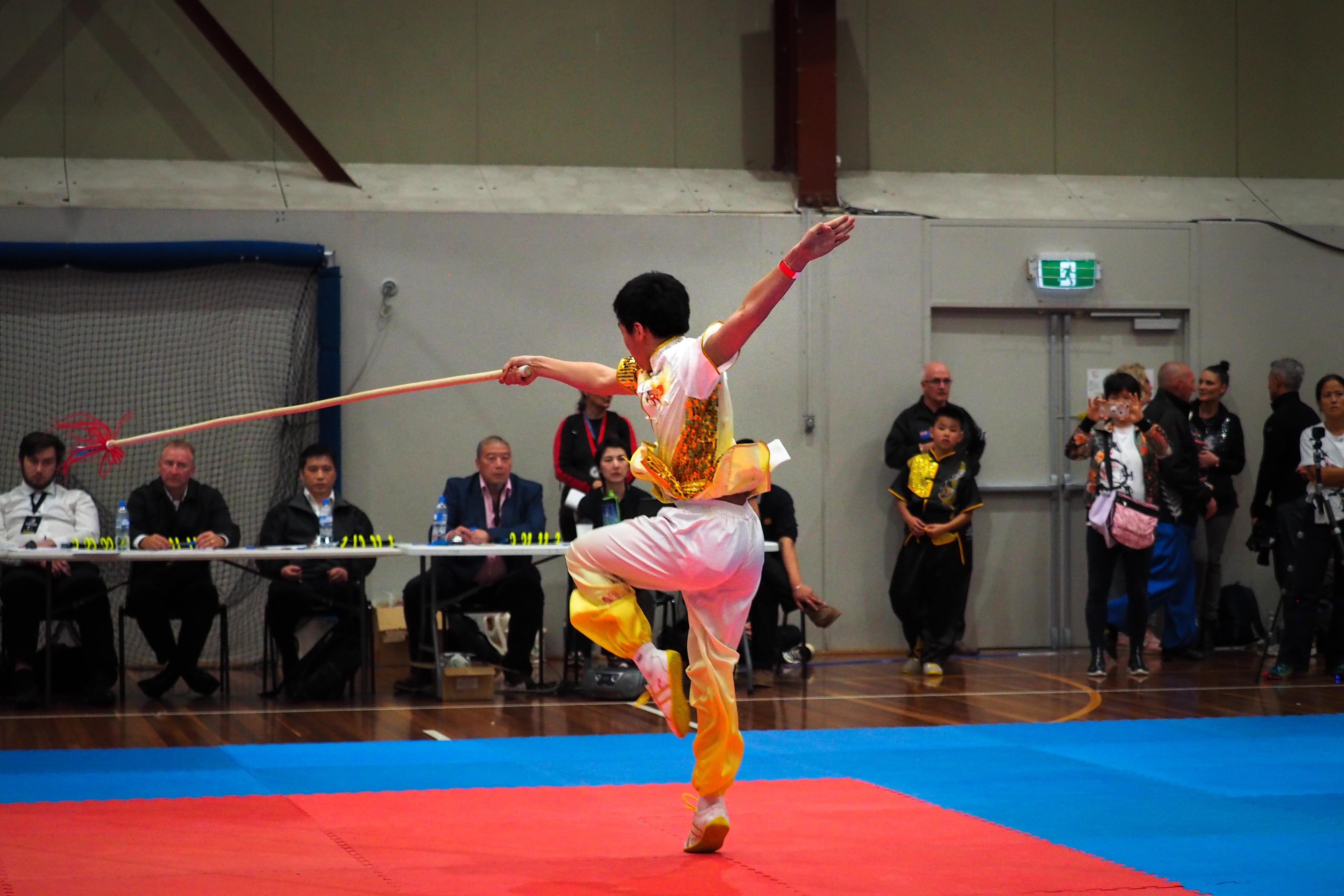 Qiang Spear NZ Wushu